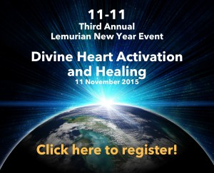 11-11 Lemurian New Year event