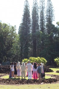 A sacred ceremony for healing teachers in an ancient, sacred space.