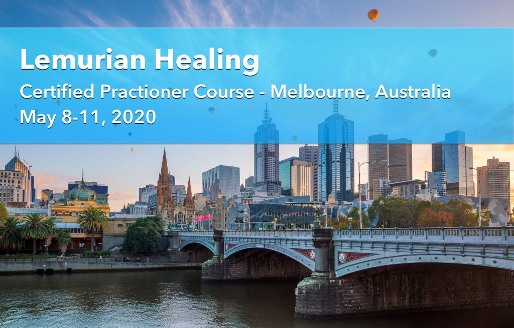 Lemurian Healing Workshop, Melbourne, Australia, May 2020